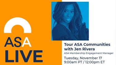 ASA Live: Tour ASA Communities