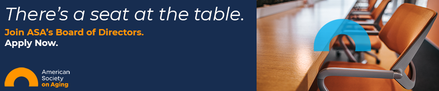 There's a seat at the table. Apply to join ASA's Board of Directors