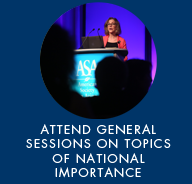 atten general sessions on topics of national importance